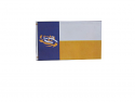 LSU Tigers Texas Fan Flag 3' x 5'  - Purple, Gold and White