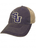 LSU Tigers Legacy Old Favorite Adjustable Mesh Hat - Purple