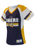 LSU Tigers Women's Draft 15 Football Jersey - Purple, Gold and White
