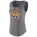 Nike LSU Tigers Women's Tri-Blend Tank Top - Grey