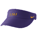 Nike LSU Tigers Sideline Classic Dri-FIT Visor - Purple