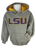 LSU Tigers Child's Prime Hoodie - Grey