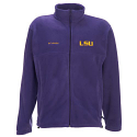 Columbia LSU Tigers Men's Flanker Fleece Jacket - Purple
