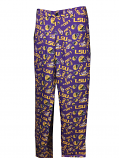 LSU Tigers Men's Logo Dress Pant  - Purple and Gold