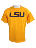 Bayou LSU Tigers YOUTH Classic Short Sleeve T-Shirt - Gold