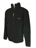 LSU Tigers Men's Antigua Ice Polar Fleece Quarter Zip Jacket – Black