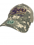 LSU Tigers Legacy ATV Outdoor Enthusiast Adjustable Mesh Hat - Digital Camo