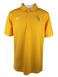 Nike Golf LSU Tigers Men's Dri-Fit Performance Varsity Baseball Polo - Gold