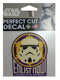 LSU Tigers Star Wars Storm Trooper Enlist Now Perfect Cut Decal