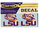 "LSU Tigers 2"" LSU Tiger Eye Premium Vinyl Decals  - 2 Per Pack"