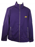 LSU Tigers Men's WeatherTec Full Zip Jacket - Purple