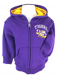 LSU Tigers Toddler Full Zip Pledge Hoodie - Purple