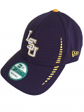 New Era LSU Tigers 9Forty Adjustable Speed Structured Hat - Purple