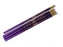 LSU Tigers Set of 4 Pencils  - Purple and Gold