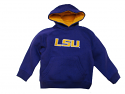 Genuine Stuff LSU Tigers Purple Toddler Tackle Twill Hoodie Sweat Shirt