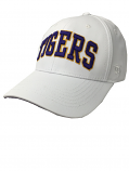 LSU Tigers Top of the World Snapback Hat - White