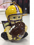 LSU Tigers Lil' Fan Football Player Ornament