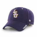 LSU Tigers 47 Brand Clean Up Ice Adjustable Cap - Purple