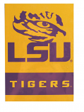 "LSU Tigers Two-Sided Tiger Eye 13"" x 18"" Garden Flag - Gold"