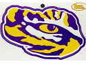"LSU Tigers 5"" Die Cut Bayou Tiger Eye Vinyl Decal"