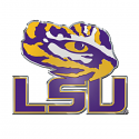 LSU Tigers Automotive Tiger Eye Emblem with Adhesive Backing