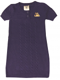 LSU Tigers Infant and Toddler Sweater Dress - Purple