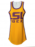 LSU Tigers Women's Jersey Dress - Gold