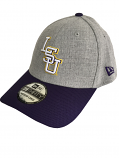 New Era 39thirty Medium-Large Fitted Change Up Redux Structured Hat - Grey & Purple