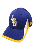 LSU Tigers 39Thirty Structured Fitted Training Hat by New Era - Purple