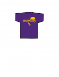 LSU Tigers #rallypossum YOUTH T-Shirt by Bayou - Purple