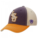 LSU Tigers Top of the World Youth Off-road Trucker Hat - Purple