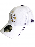 New Era LSU Tigers 9Forty Adjustable Speed Structured Hat - White