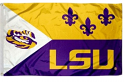 LSU Tigers Acadian 3' x 5' Flag with Grommets