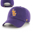 LSU Tigers '47 Brand Toddler Vintage Clean Up Adjustable Cap - Purple