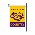 LSU Tigers Country Garden Flag - Gold