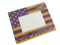 "LSU Tigers 7"" x 9.5"" Acrylic Flag Photo Frame - Purple and Gold"