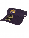 LSU Tigers 47 Brand Vintage Clean Up Adjustable Visor - Purple