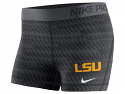 Nike LSU Tigers Women's Pro Cool Sports Short - Anthracite