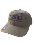 LSU Tigers Toddler The Game Bar Design Relaxed Adjustable Hat - Khaki