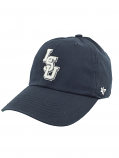 LSU Tigers 47 Brand Sized Relaxed Fit Franchise Hat - Navy Blue