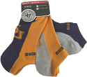 LSU Tigers 3-Pack Sportlite Anklet Socks - Purple, Gold & Grey