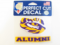 "LSU Tigers Perfect Cut Alumni Tiger Eye Decal - 4"" x 5"""