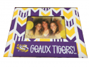 "LSU Tigers Chevron 8"" x 10"" Picture Frame - Purple, Gold and White"