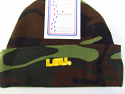LSU Tigers Baby Camoflage Knit Hat