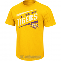 LSU Tigers Colosseum Men's Downslope Short Sleeve Tee - Gold