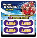 LSU Tigers Peel & Stick Under Eye Strips Face Decals - Multi Use
