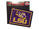 LSU Tigers Universal Domed Rectangle Hitch Cap - Purple and Gold