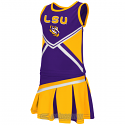 Colosseum Athletics LSU Tigers Toddler Cheerleader 2-Piece Set - Purple, Gold & White