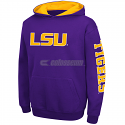 LSU Tigers Colosseum YOUTH Zone Pullover Hoodie - Purple