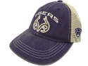 LSU Tigers Top of the World Youth Realtree Antlers Trucker Hat - Purple & Beige